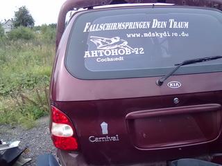 Kia CARNIVAL 2000 2.5 Automatinė