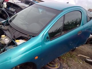 Naudotos automobilio dalys Opel TIGRA 1998 1.4 Mechaninė Hačbekas 2/3 d.  2011-08-22