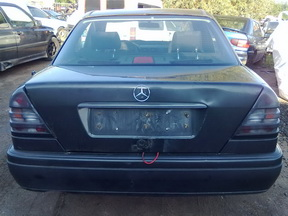 Mercedes-Benz C-CLASS 1994 2.2 Mechaninė