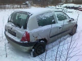 Naudotos automobilio dalys Renault CLIO 1998 1.1 Mechaninė Hačbekas 2/3 d.  2012-01-20
