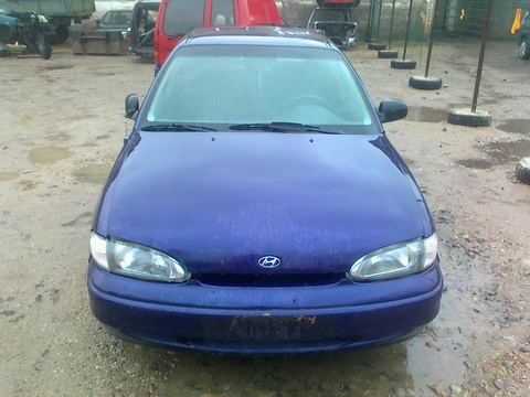 Used Car Parts Foto 1 Hyundai ACCENT 1997 1.5 Automatic Hatchback 4/5 d.  2012-11-02 A653