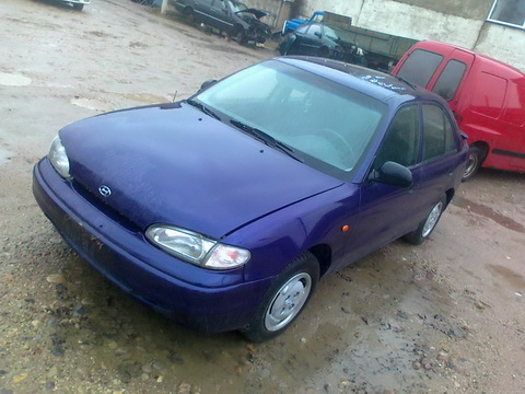 Used Car Parts Foto 2 Hyundai ACCENT 1997 1.5 Automatic Hatchback 4/5 d.  2012-11-02 A653