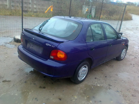 Used Car Parts Foto 4 Hyundai ACCENT 1997 1.5 Automatic Hatchback 4/5 d.  2012-11-02 A653