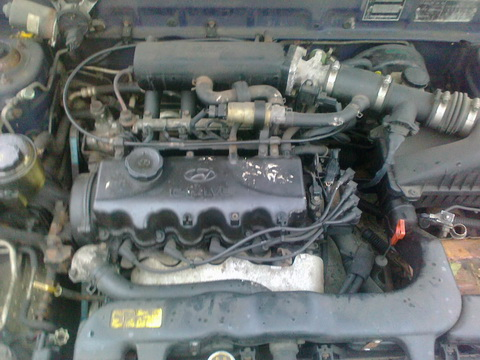 Used Car Parts Foto 6 Hyundai ACCENT 1997 1.5 Automatic Hatchback 4/5 d.  2012-11-02 A653