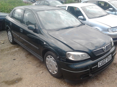 Opel ASTRA 2002 2.0 Mechanical