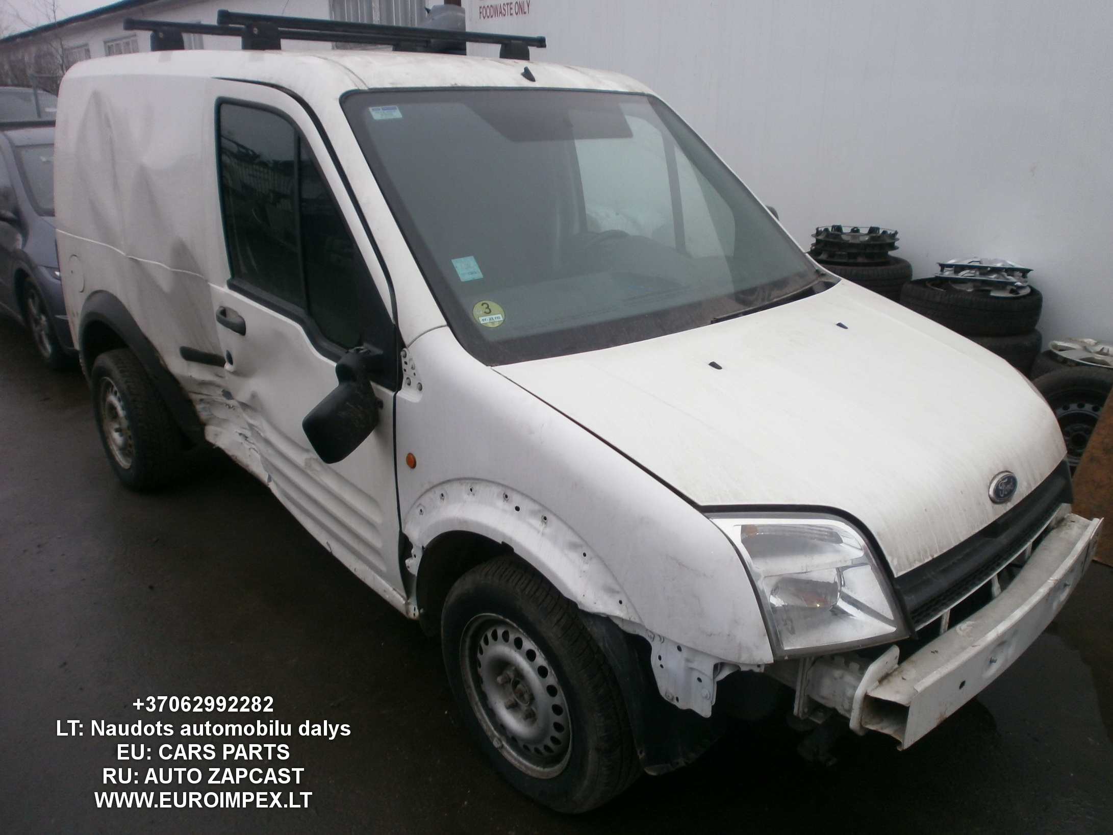 Ford TRANSIT CONNECT 2006 1.8 Mechaninė