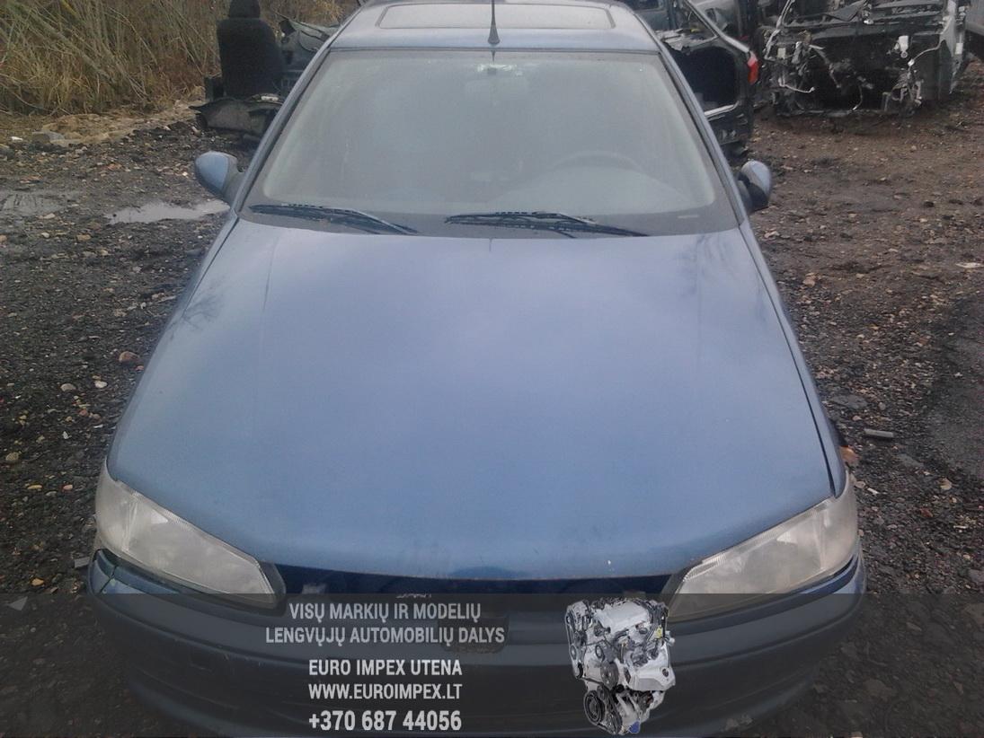Naudotos automobiliu dallys Foto 2 Peugeot 406 1996 1.9 Mechaninė Sedanas 4/5 d. Melyna 2014-1-22 A1312