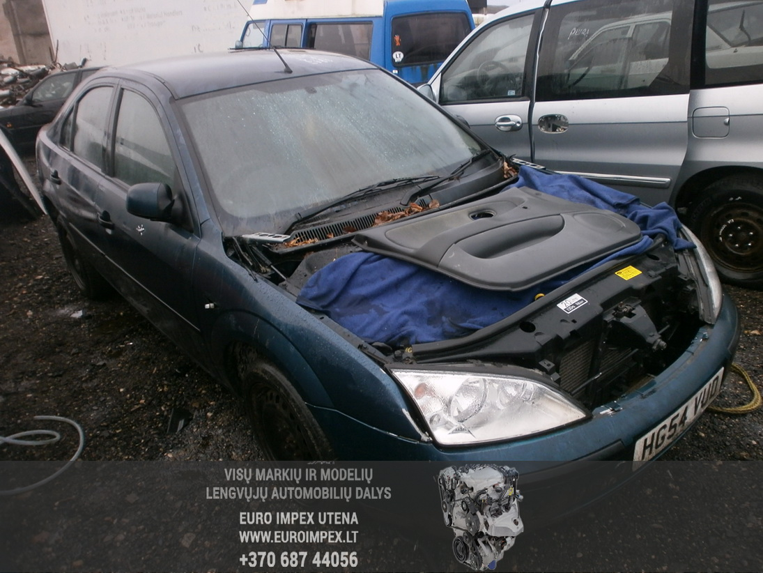 Naudotos automobiliu dallys Foto 3 Ford MONDEO 2004 2.0 Mechaninė Hačbekas 4/5 d. Melyna 2014-1-06 A1281