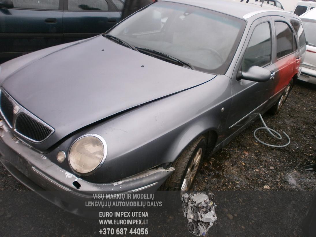 Naudotos automobilio dalys Lancia LYBRA 2000 1.8 Mechaninė Universalas 4/5 d. Pilka 2014-1-06