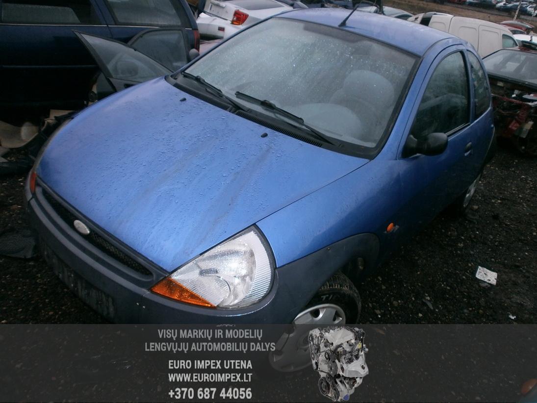 Naudotos automobilio dalys Ford KA 1997 1.3 Mechaninė Hačbekas 2/3 d. Melyna 2014-1-07