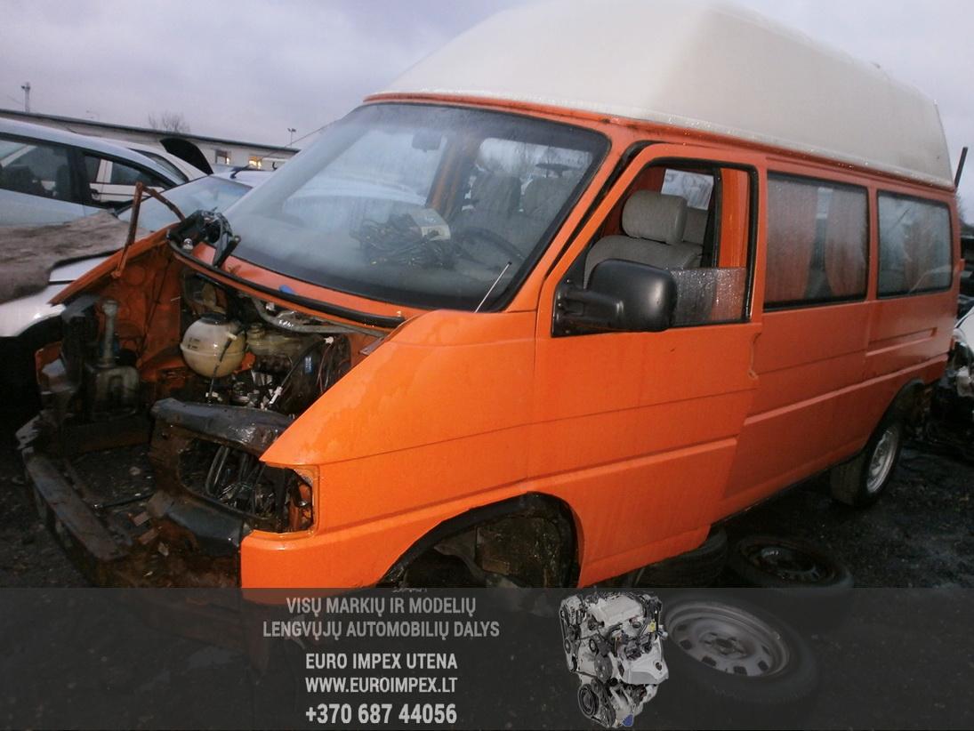 Naudotos automobilio dalys Volkswagen TRANSPORTER 1993 2.5 Mechaninė Komercinis 4/5 d. Raudona 2014-1-07