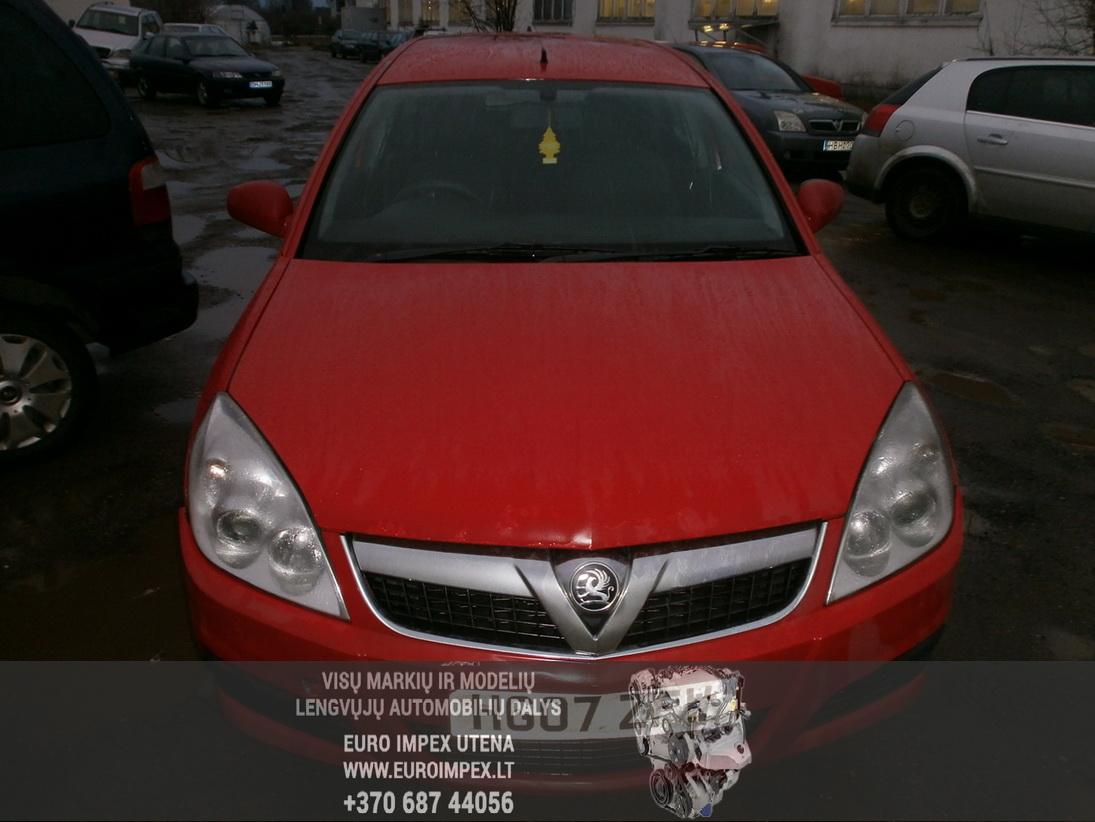 Naudotos automobiliu dallys Foto 2 Opel VECTRA 2007 1.9 Automatinė Universalas 4/5 d. Raudona 2014-1-08 A1296