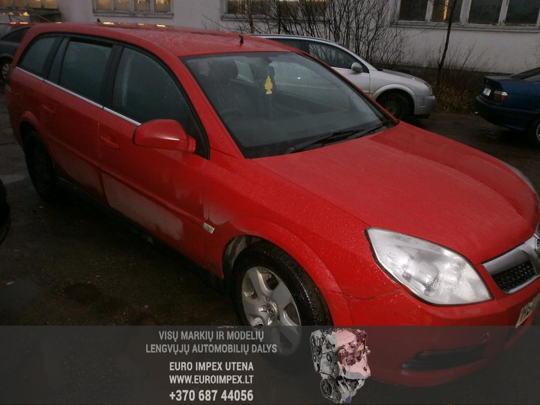 Naudotos automobiliu dallys Foto 3 Opel VECTRA 2007 1.9 Automatinė Universalas 4/5 d. Raudona 2014-1-08 A1296