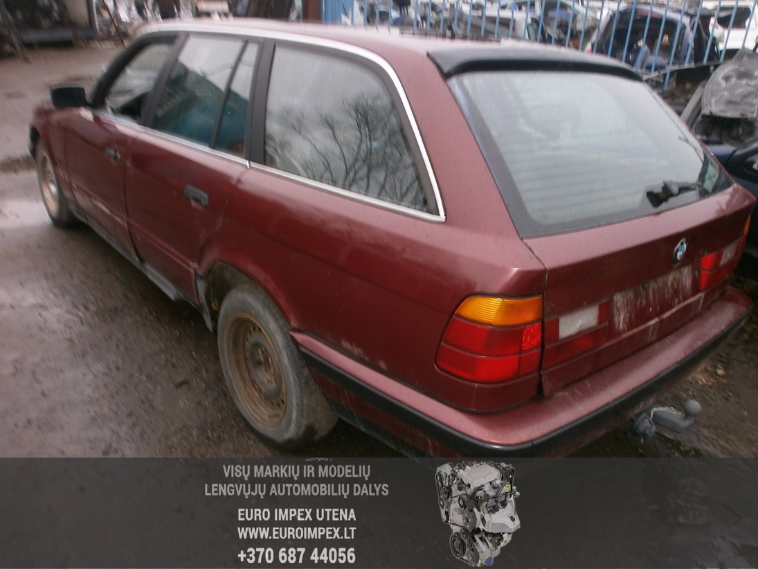 Naudotos automobilio dalys BMW 5-SERIES 1996 2.5 Mechaninė Universalas 4/5 d. Raudona 2014-1-07