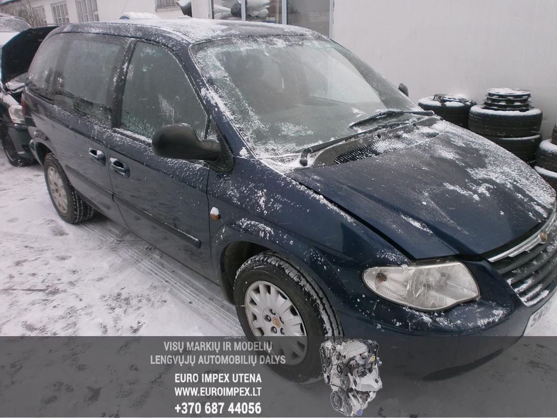 Chrysler VOYAGER 2006 2.5 Mechaninė