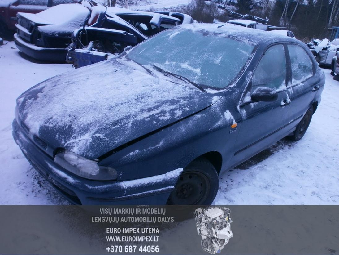 Naudotos automobilio dalys Fiat BRAVA 1996 1.4 Mechaninė Hačbekas 4/5 d. Žalia 2014-1-16