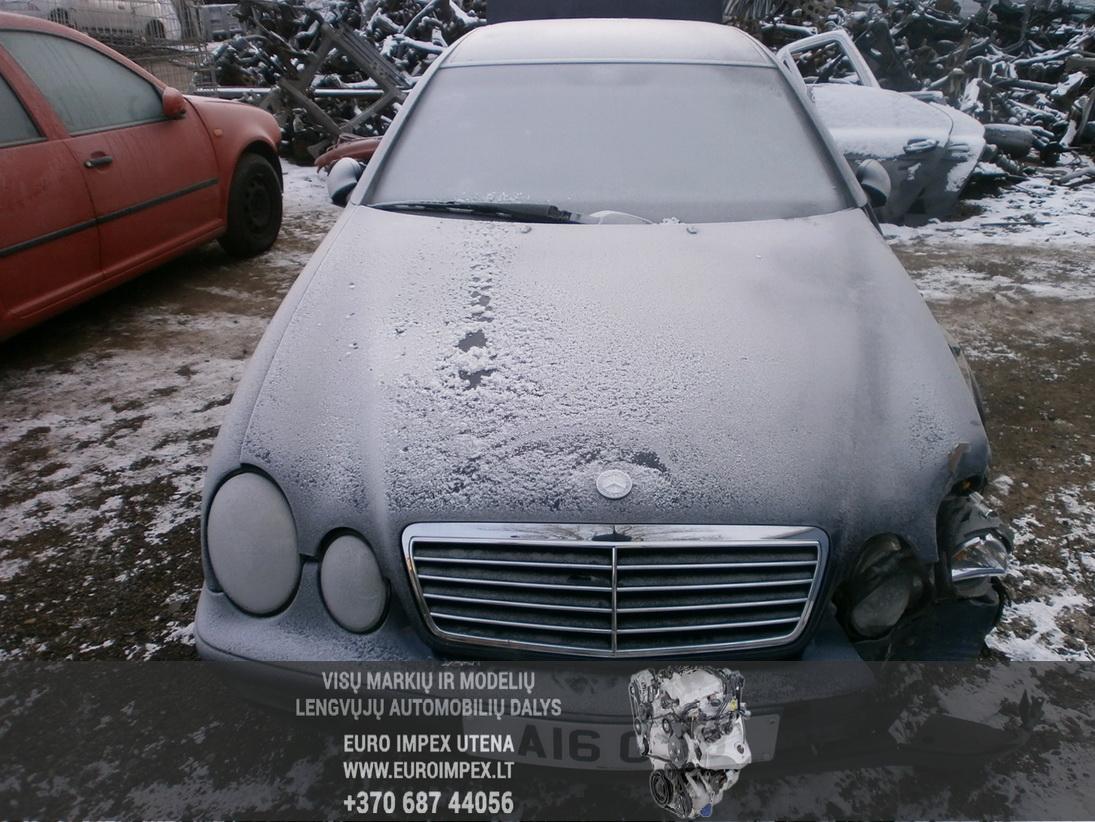 Used Car Parts Foto 2 Mercedes-Benz CLK-CLASS 1998 2.3 Automatic Coupe 2/3 d. Blue 2014-1-27 A1317