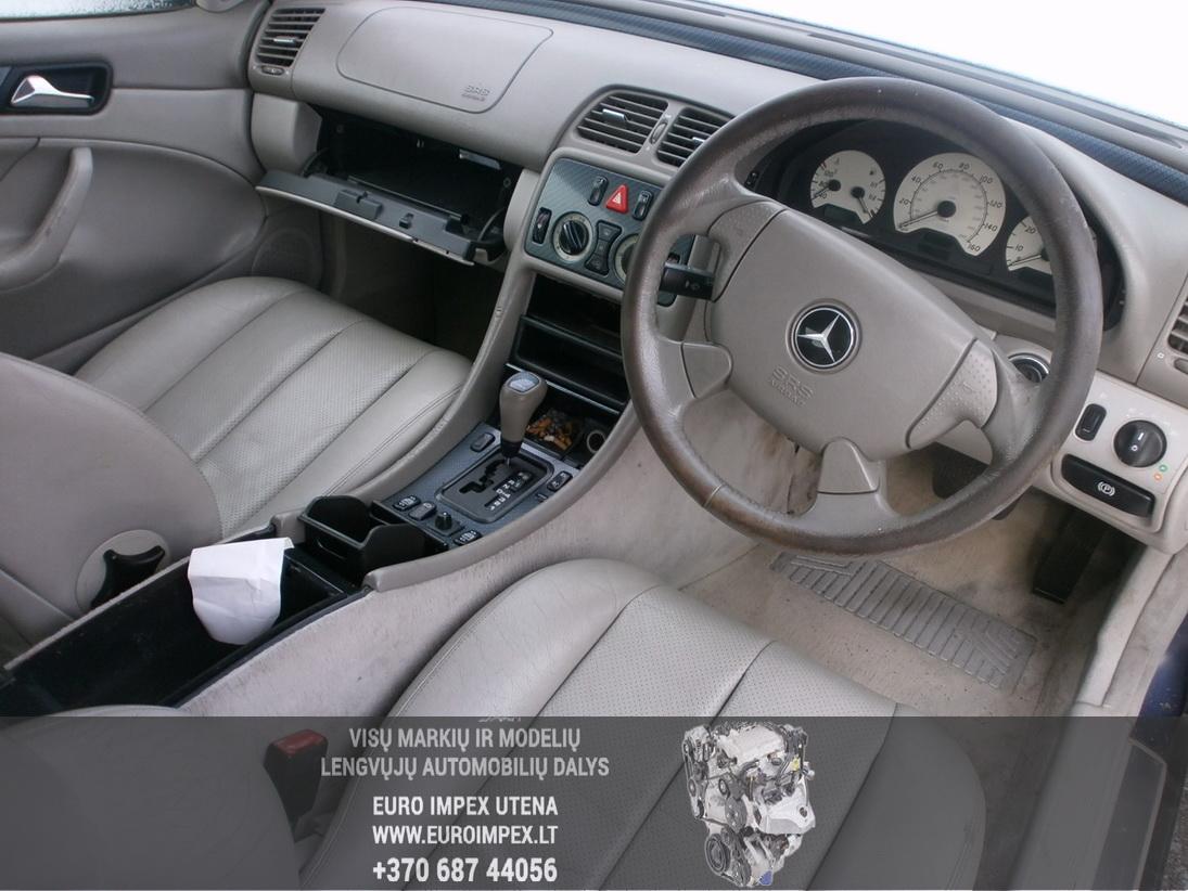 Used Car Parts Foto 5 Mercedes-Benz CLK-CLASS 1998 2.3 Automatic Coupe 2/3 d. Blue 2014-1-27 A1317