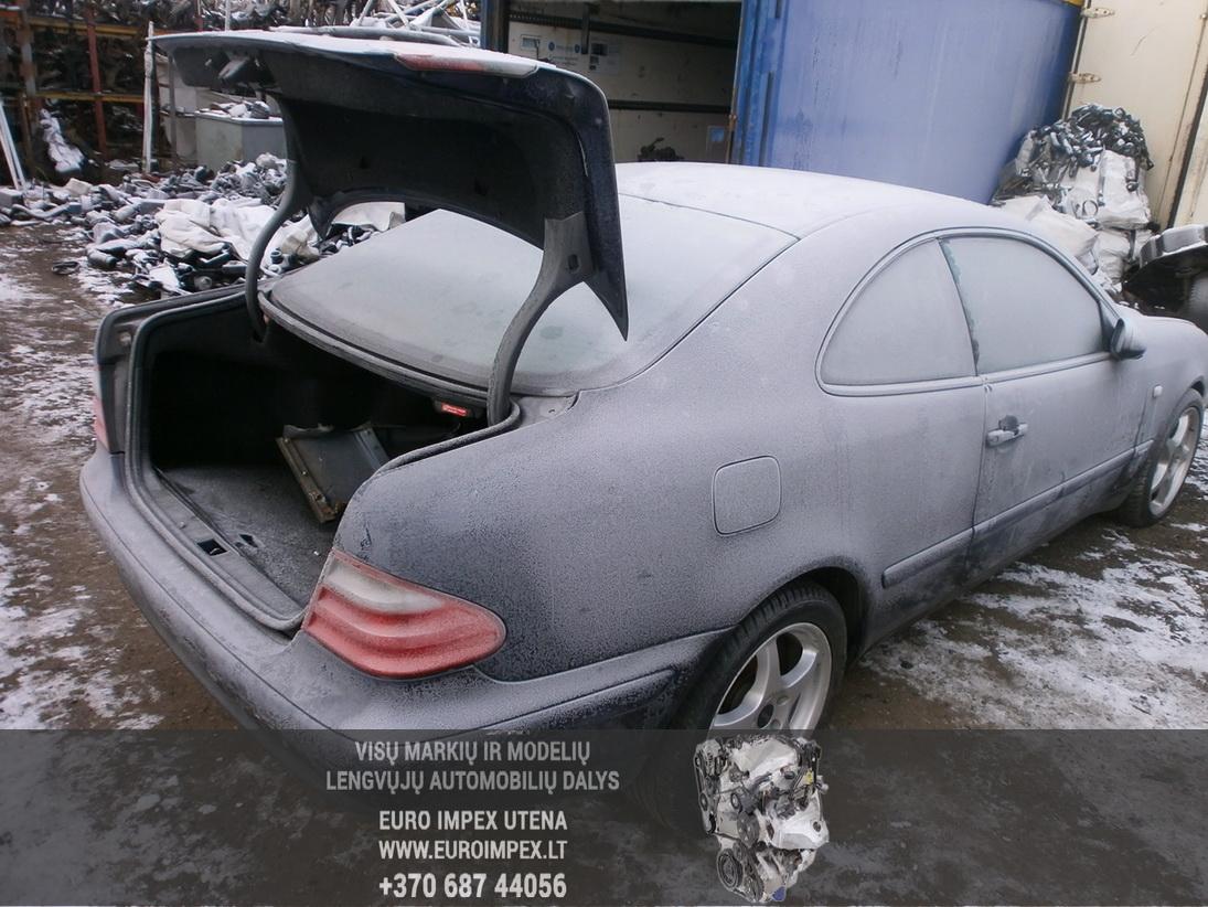 Used Car Parts Foto 6 Mercedes-Benz CLK-CLASS 1998 2.3 Automatic Coupe 2/3 d. Blue 2014-1-27 A1317