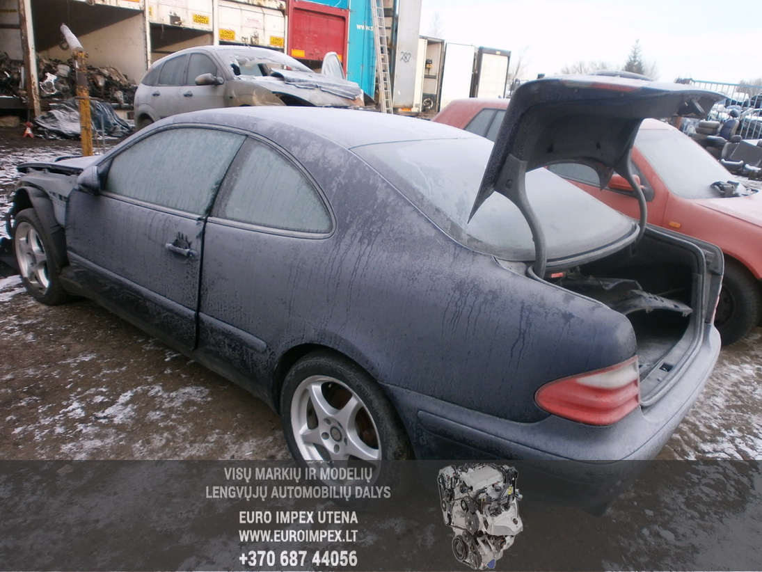 Used Car Parts Foto 7 Mercedes-Benz CLK-CLASS 1998 2.3 Automatic Coupe 2/3 d. Blue 2014-1-27 A1317