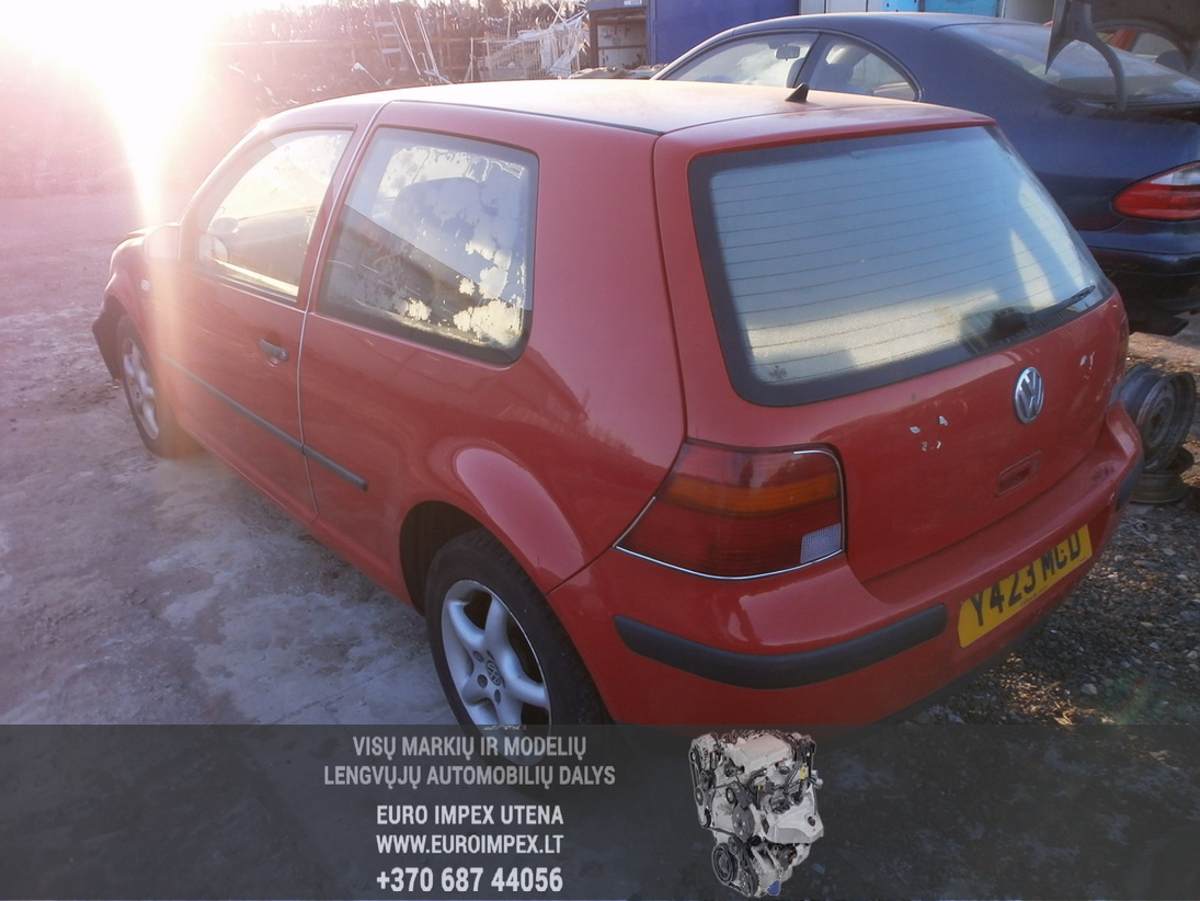 Naudotos automobiliu dallys Foto 6 Volkswagen GOLF 1999 1.4 Mechaninė Hačbekas 2/3 d. Raudona 2014-1-29 A1320