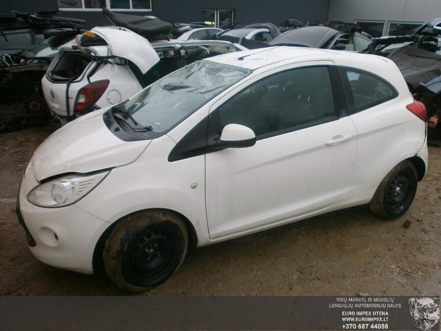 Naudotos automobilio dalys Ford KA 2012 1.2 Mechaninė Hačbekas 2/3 d. Balta 2014-2-19