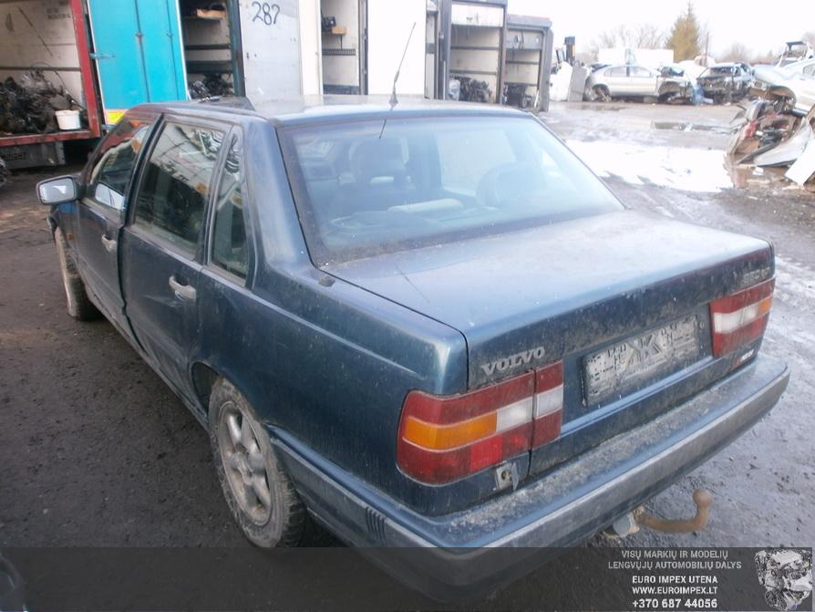 Naudotos automobilio dalys Volvo 850 1992 2.4 Mechaninė Sedanas 4/5 d. Žalia 2014-2-21