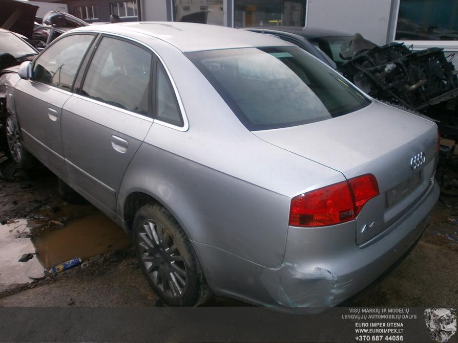 Naudotos automobilio dalys Audi A4 2006 2.7 Mechaninė Sedanas 4/5 d. Pilka 2014-2-21