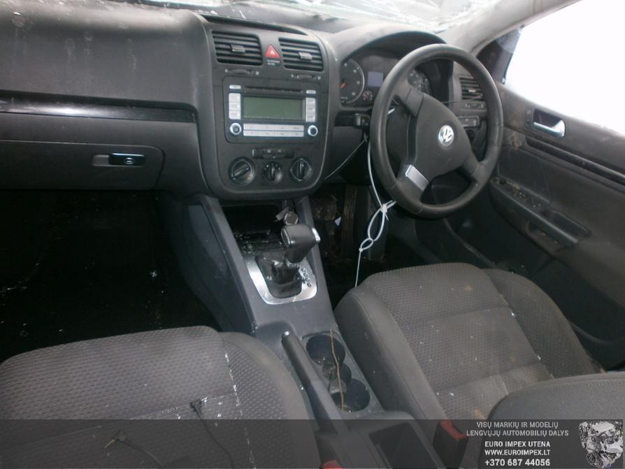 Naudotos automobiliu dallys Foto 7 Volkswagen GOLF 2007 2.0 Automatinė Hačbekas 4/5 d. Pilka 2014-2-21 A1367