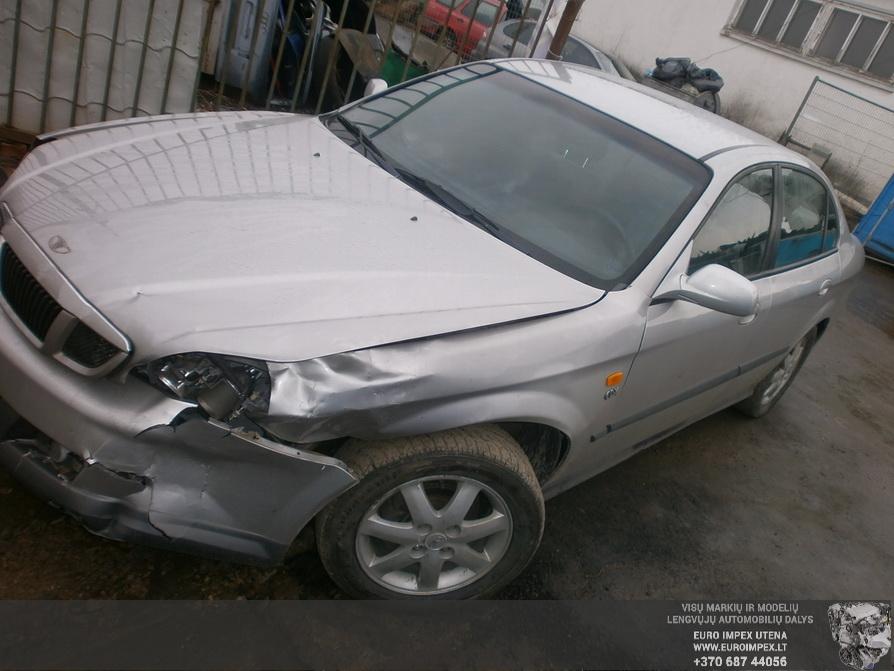 Naudotos automobilio dalys Daewoo EVANDA 2003 2.0 Automatinė Sedanas 4/5 d. Pilka 2014-2-22