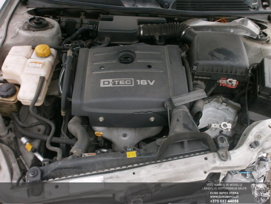 Used Car Parts Daewoo EVANDA 2003 2.0 Automatic Sedan 4/5 d. Grey 2014-2-22