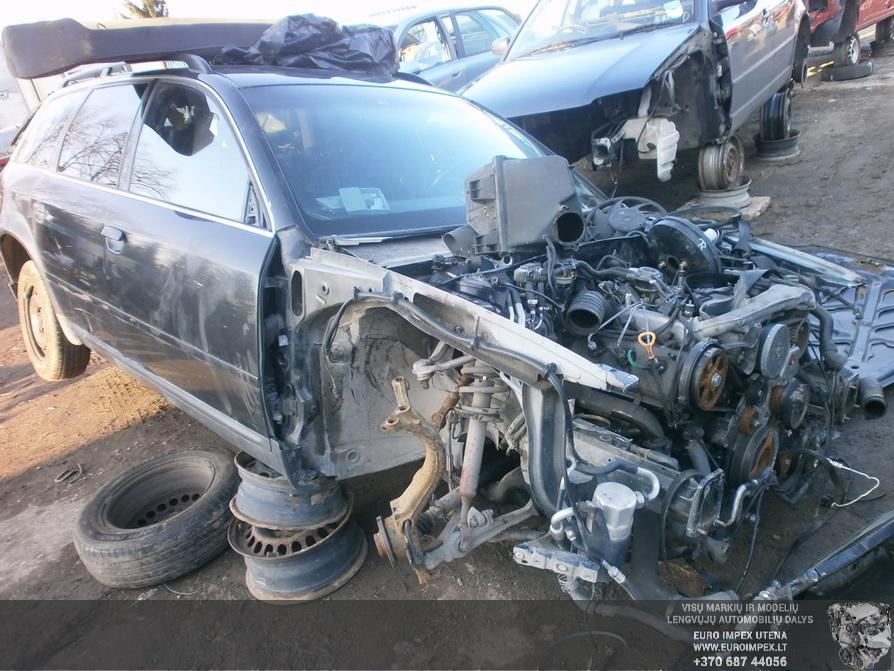 Подержанные Автозапчасти Foto 3 Audi A6 1998 2.5 машиностроение универсал 4/5 d. Žalia 2014-2-25 A1373