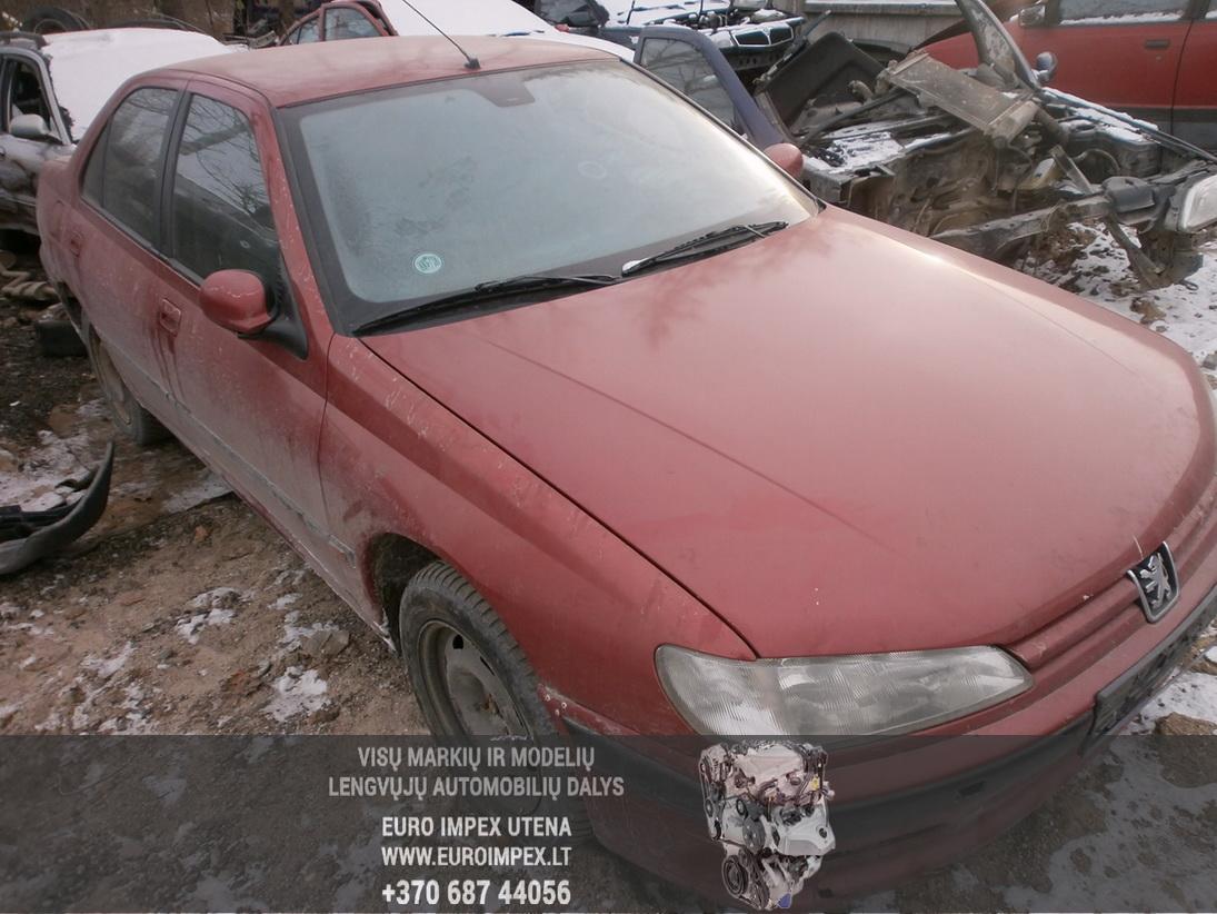 Naudotos automobiliu dallys Foto 3 Peugeot 406 1997 2.1 Mechaninė Sedanas 4/5 d. Raudona 2014-1-31 A1323