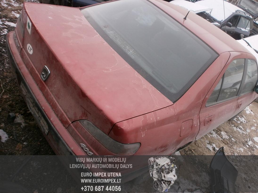 Naudotos automobilio dalys Peugeot 406 1997 2.1 Mechaninė Sedanas 4/5 d. Raudona 2014-1-31