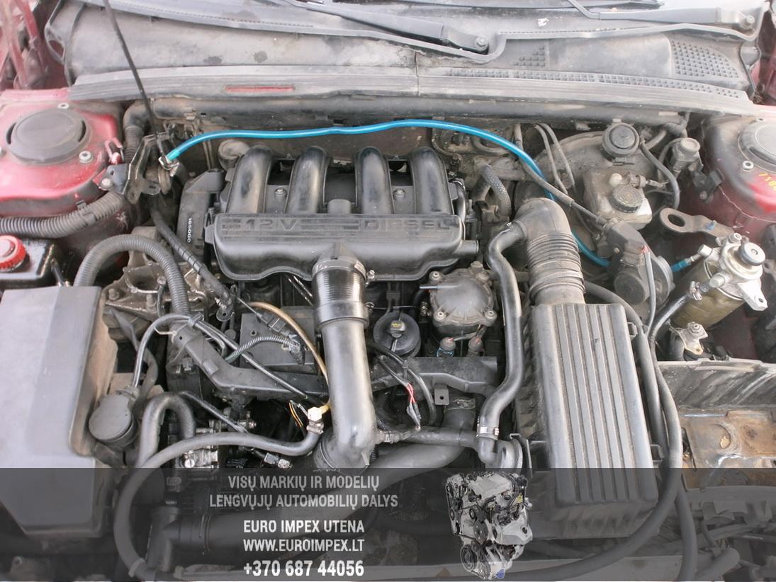 Naudotos automobiliu dallys Foto 8 Peugeot 406 1997 2.1 Mechaninė Sedanas 4/5 d. Raudona 2014-1-31 A1323