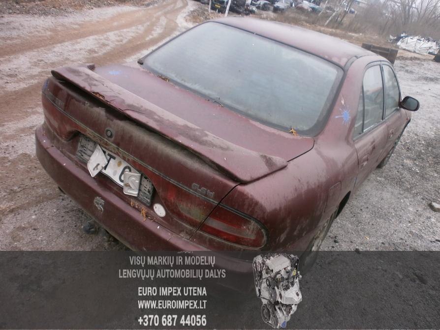 Naudotos automobiliu dallys Foto 5 Mitsubishi GALANT 1994 2.0 Mechaninė Sedanas 4/5 d. Raudona 2014-2-07 A1336