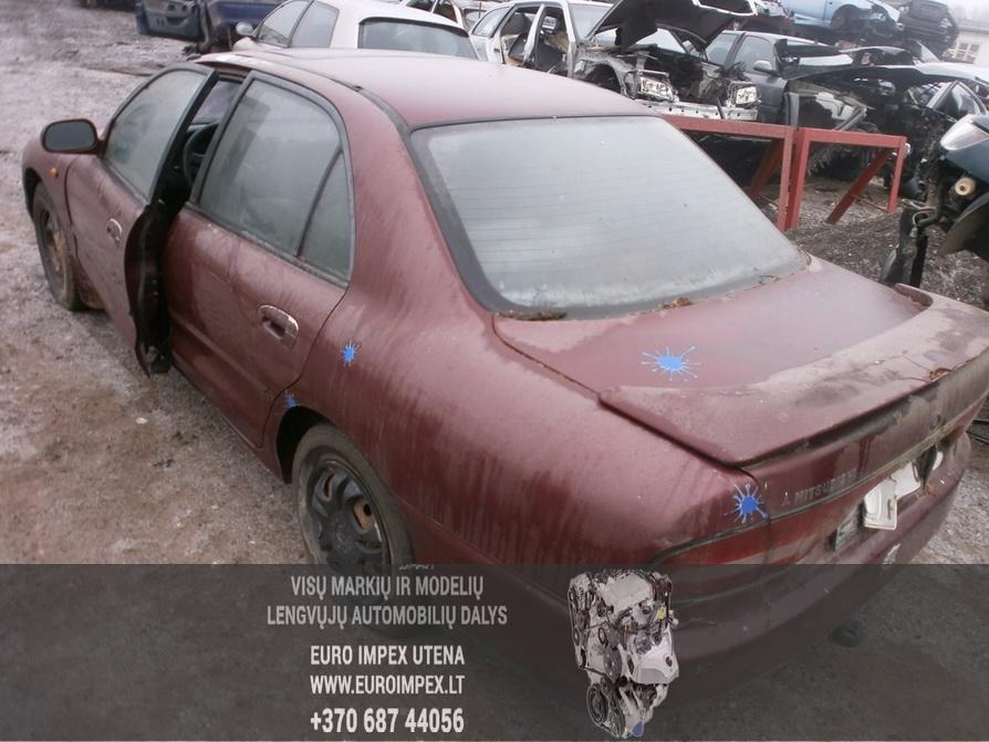Naudotos automobilio dalys Mitsubishi GALANT 1994 2.0 Mechaninė Sedanas 4/5 d. Raudona 2014-2-07