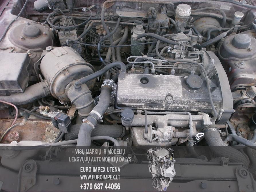 Naudotos automobiliu dallys Foto 8 Mitsubishi GALANT 1994 2.0 Mechaninė Sedanas 4/5 d. Raudona 2014-2-07 A1336