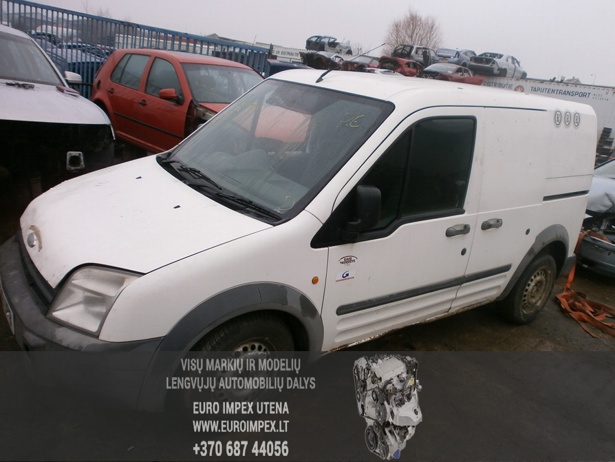 Ford TRANSIT CONNECT 2007 1.8 Mechaninė