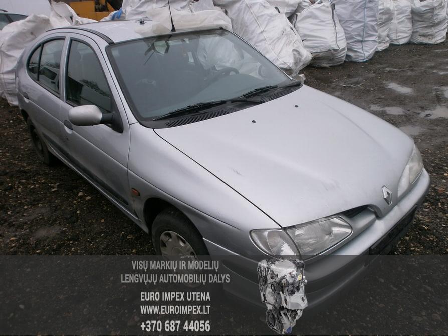 Renault MEGANE 1997 1.6 Mechaninė