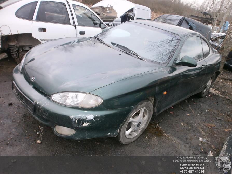 Naudotos automobilio dalys Hyundai COUPE 1998 1.6 Mechaninė Kupė 2/3 d. Žalia 2014-2-12