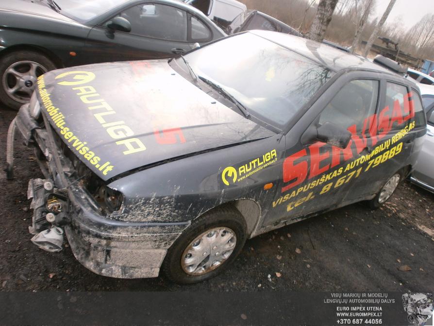 Naudotos automobilio dalys Seat IBIZA 1996 1.9 Mechaninė Hačbekas 4/5 d. Juoda 2014-2-12