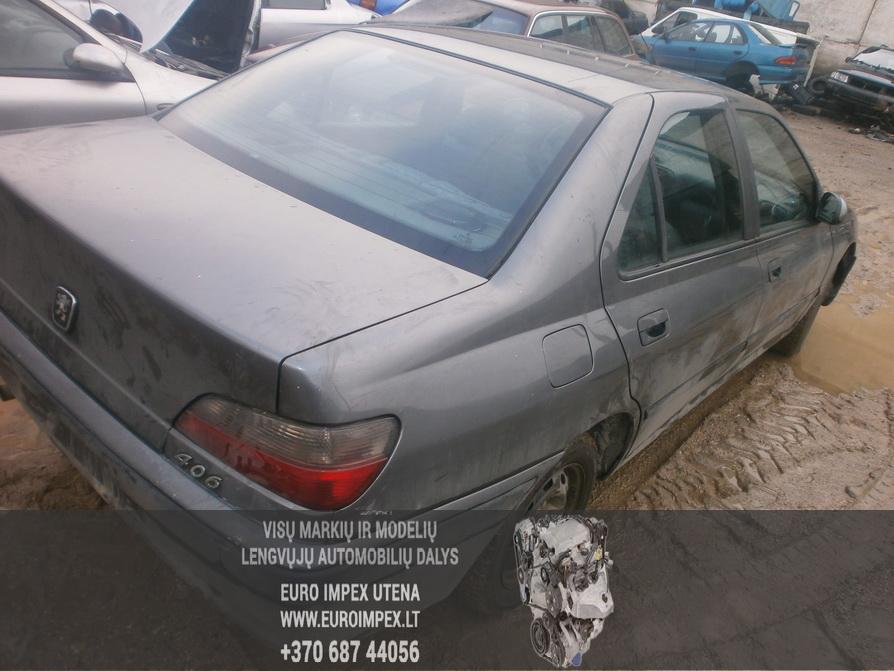 Naudotos automobilio dalys Peugeot 406 1996 1.8 Mechaninė Sedanas 4/5 d. Pilka 2014-2-12