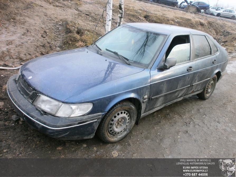 Naudotos automobilio dalys SAAB 900 1996 2.0 Mechaninė Hačbekas 4/5 d. Melyna 2014-2-12