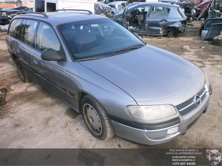 Naudotos automobiliu dallys Foto 3 Opel OMEGA 1994 2.0 Mechaninė Universalas 4/5 d. Pilka 2014-2-28 A1375