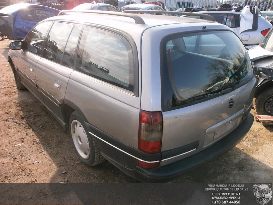 Naudotos automobiliu dallys Foto 6 Opel OMEGA 1994 2.0 Mechaninė Universalas 4/5 d. Pilka 2014-2-28 A1375