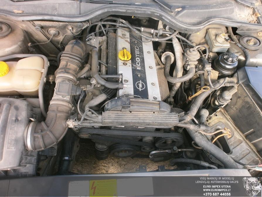 Naudotos automobiliu dallys Foto 7 Opel OMEGA 1994 2.0 Mechaninė Universalas 4/5 d. Pilka 2014-2-28 A1375