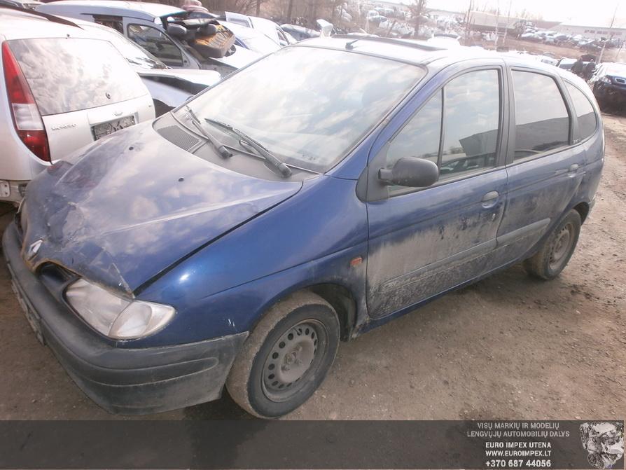 Renault SCENIC 1998 1.6 машиностроение