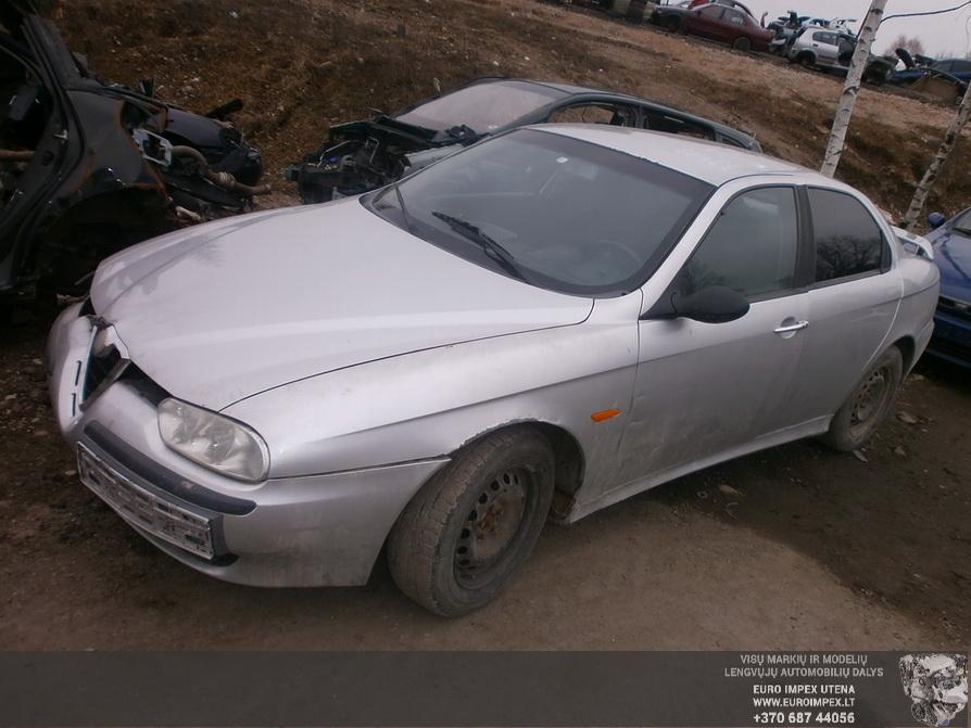 Naudotos automobilio dalys Alfa-Romeo 156 1999 2.4 Mechaninė Sedanas 4/5 d. Pilka 2014-3-01