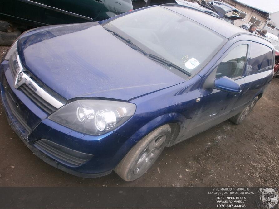 Opel ASTRA 2006 1.7 Mechaninė
